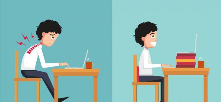 Ergonomia: boas práticas para manter uma boa postura no trabalho