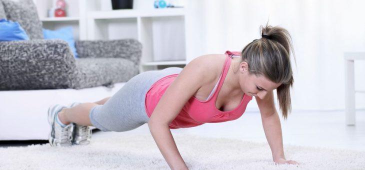 5 exercícios físicos que você pode fazer em casa